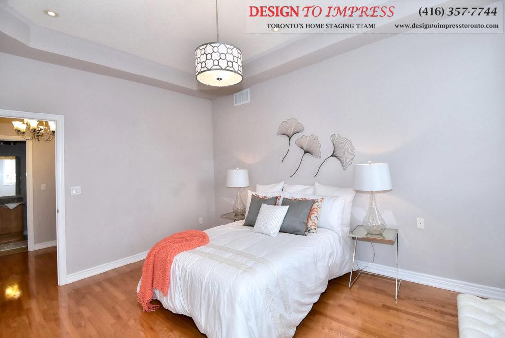 Second Bedroom Entrance, 132 Israel Zilber, Vaughan Home Staging