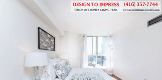 Second Bedroom Sideview, 44 St. Joseph, Toronto Condo Staging
