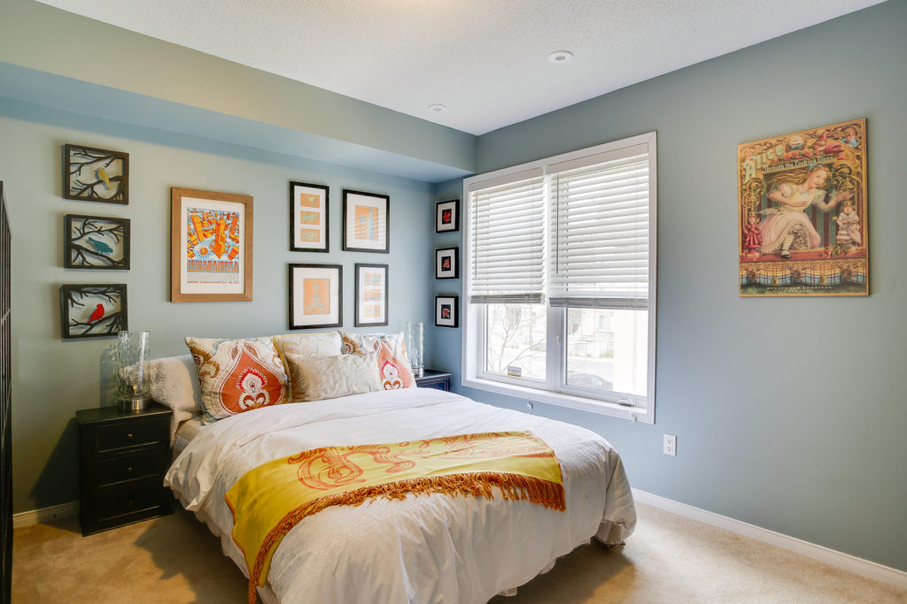 Second Bedroom, 41 Foundry, Toronto Home Staging