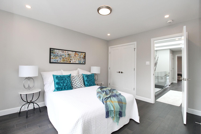 Second Bedroom View, 182 Oak Park, East York Home Staging