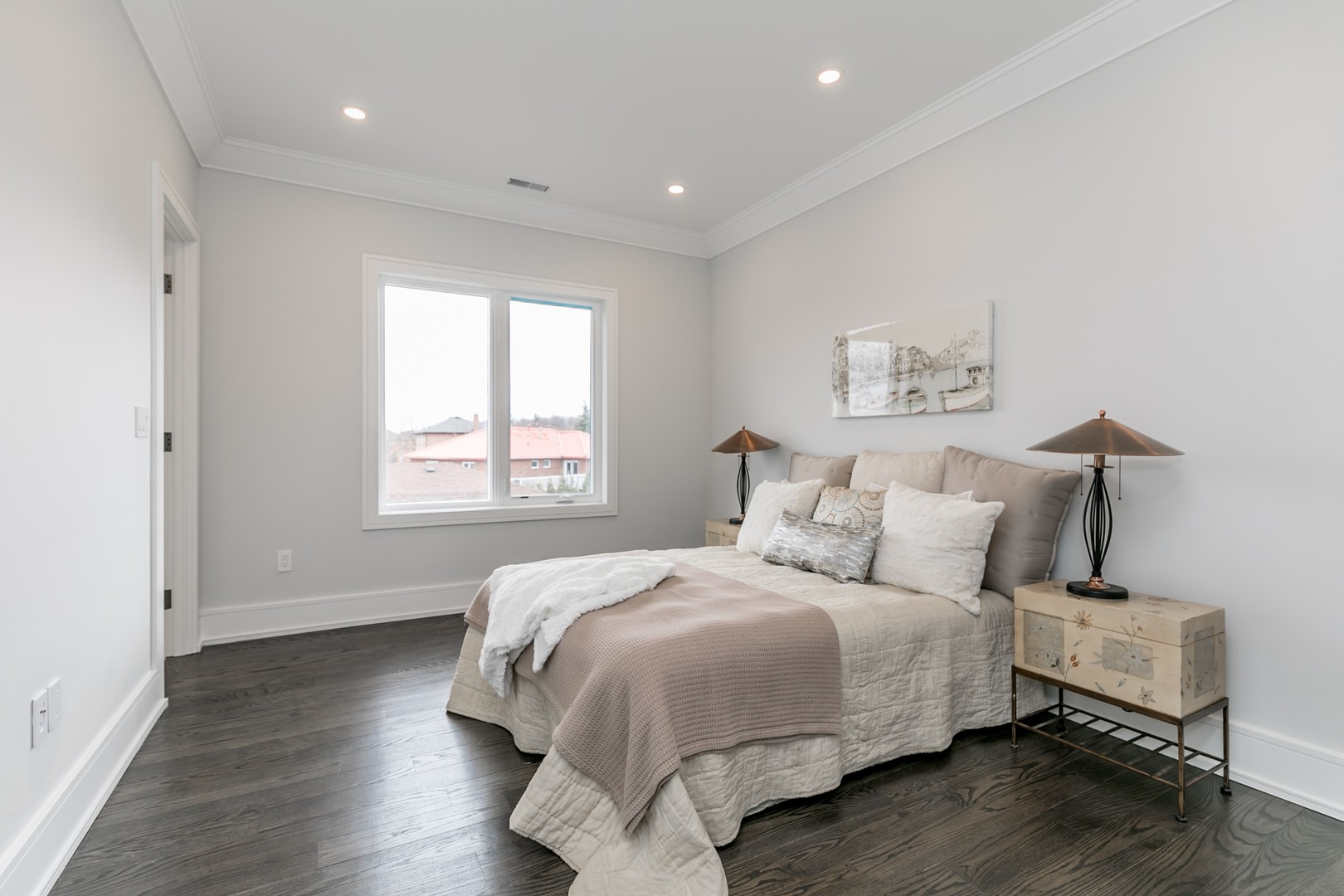 Second Bedroom View, 19 Ryder, Vaughan Home Staging