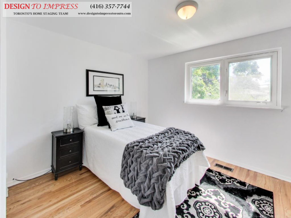 Second Bedroom, 41 Bournville, Scarborough Home Staging