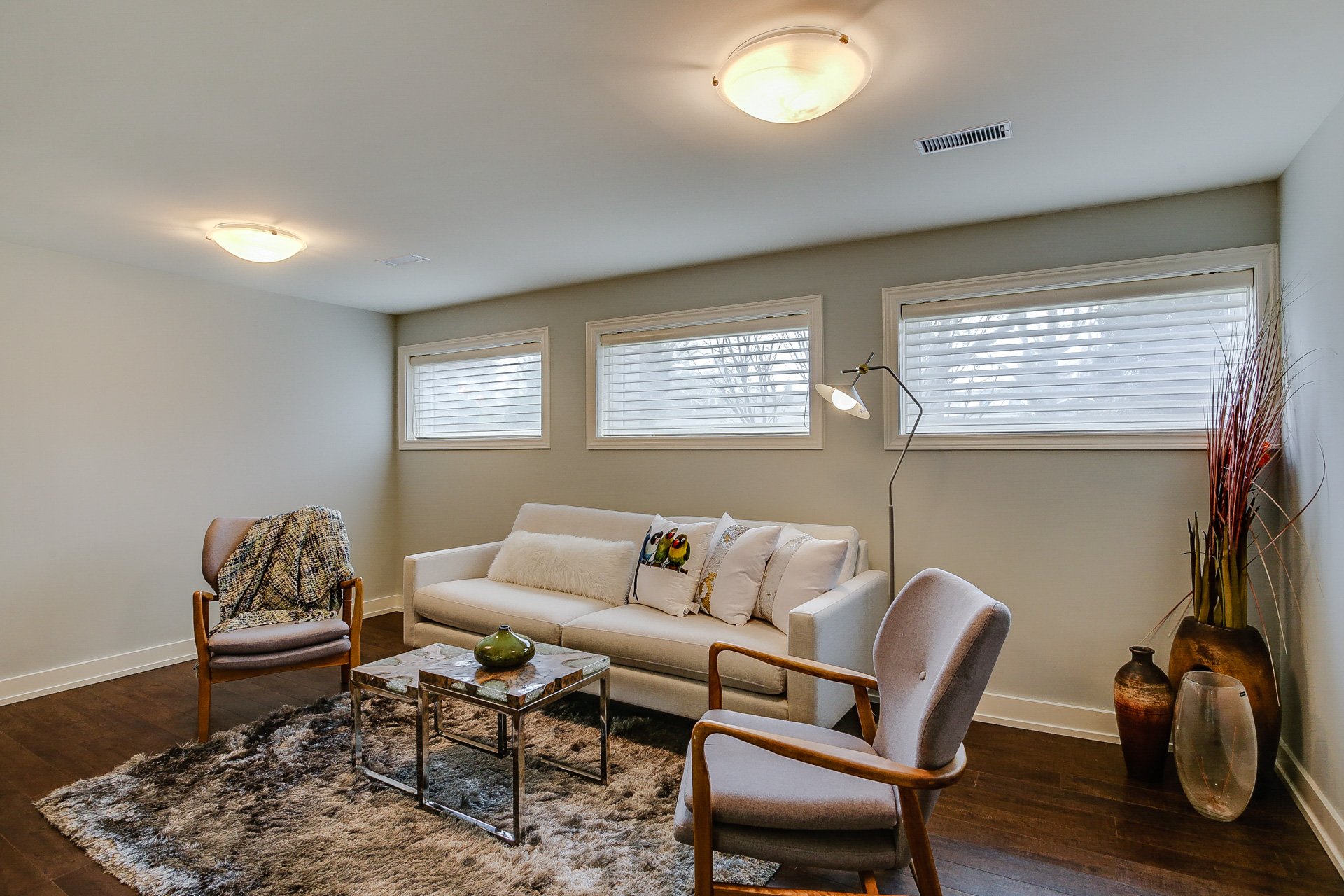 Sitting Area, 26 Boxbury, Etobicoke Home Staging