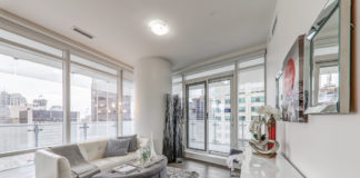 Sitting Room, 1 Bloor St. East, Toronto Condo Staging