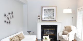 Sitting Room, 758 O'Connor, Toronto Home Staging