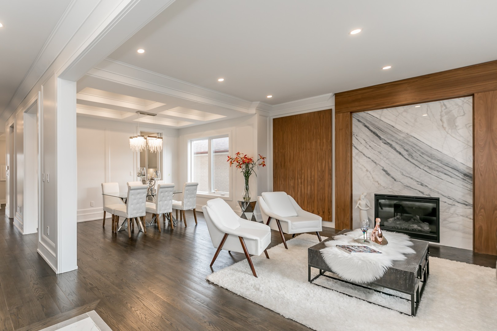 Sitting Room and Dining Room, 19 Ryder, Vaughan Home Staging