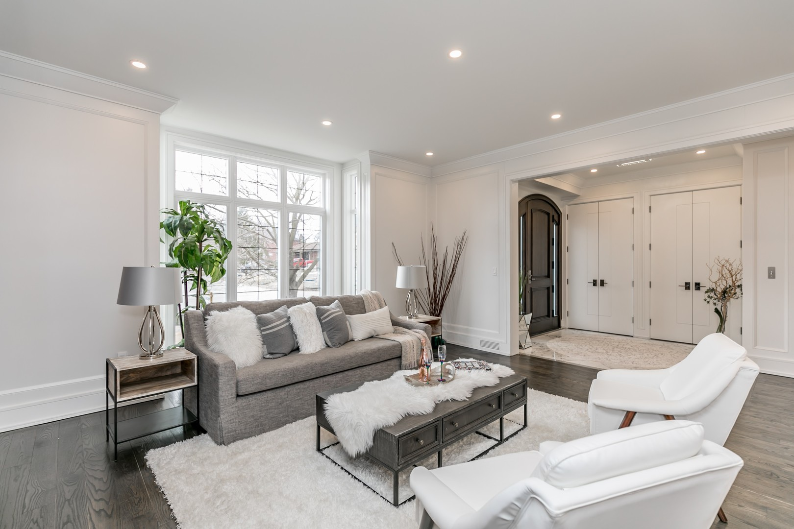 Sitting Room and Front Door, 19 Ryder, Vaughan Home Staging