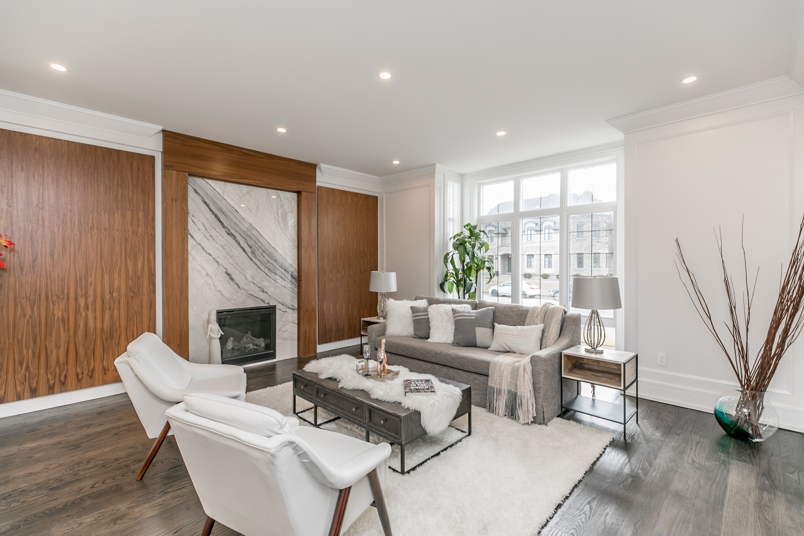 Sitting Room View, 19 Ryder, Vaughan Home Staging