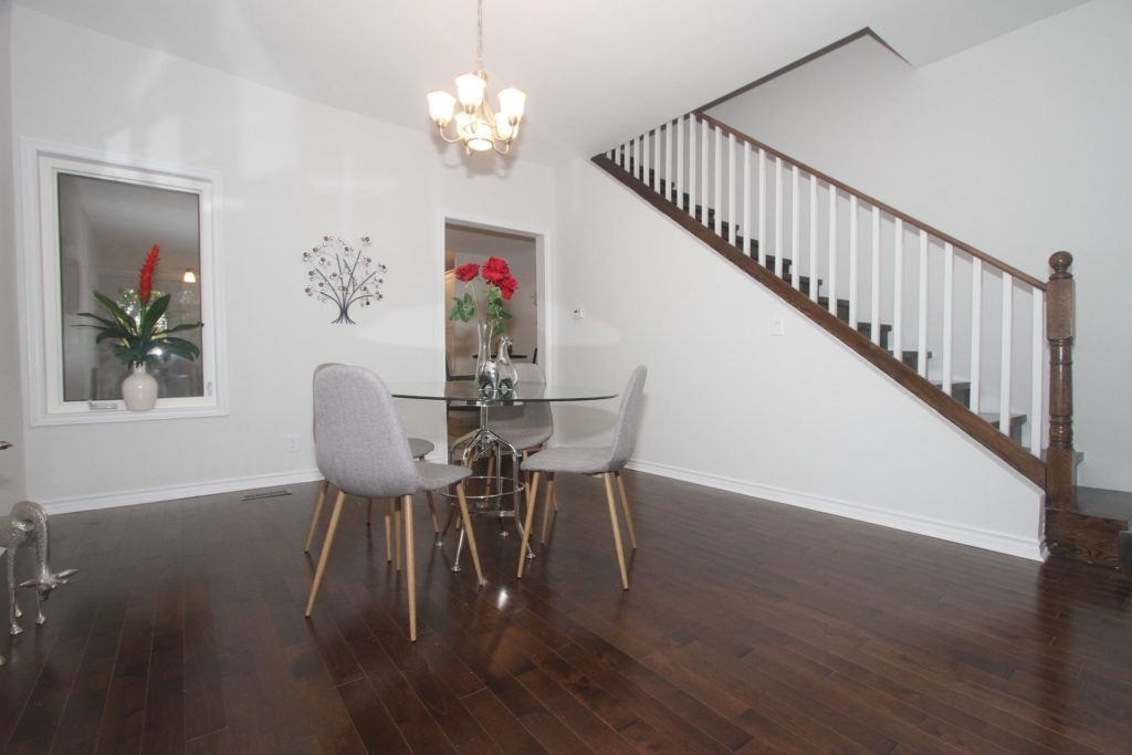Stairs, 161 Fifth, Etobicoke Home Staging