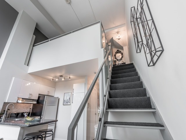 Stairs, 300 Manitoba, Toronto Condo Staging