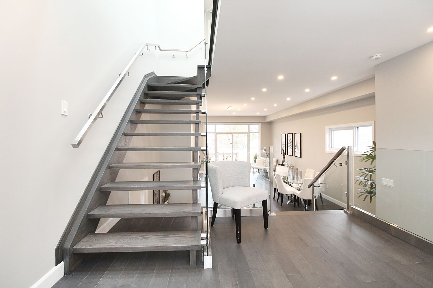 Stairs Area, 182 Oak Park, East York Home Staging