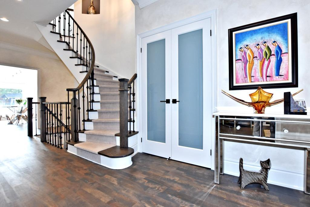 Stairs and Closet, 91 Wheeler, East York Home Staging