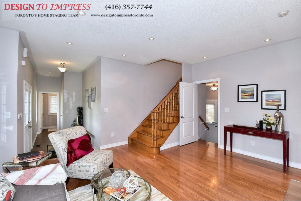 Stairway, 132 Israel Zilber, Vaughan Home Staging