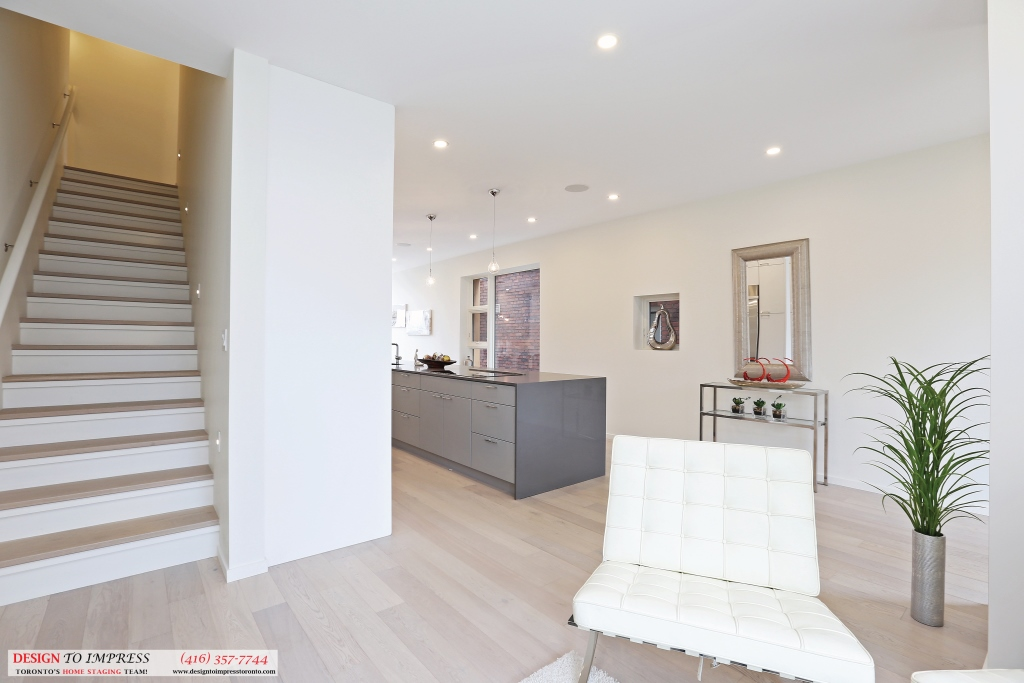 Stairway, 75 Parkway, Toronto Home Staging