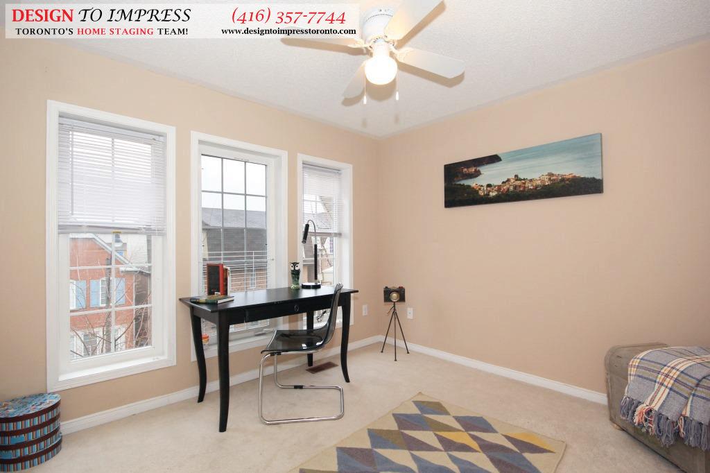 Third Bedroom, 133 Tarragona, Toronto Home Staging