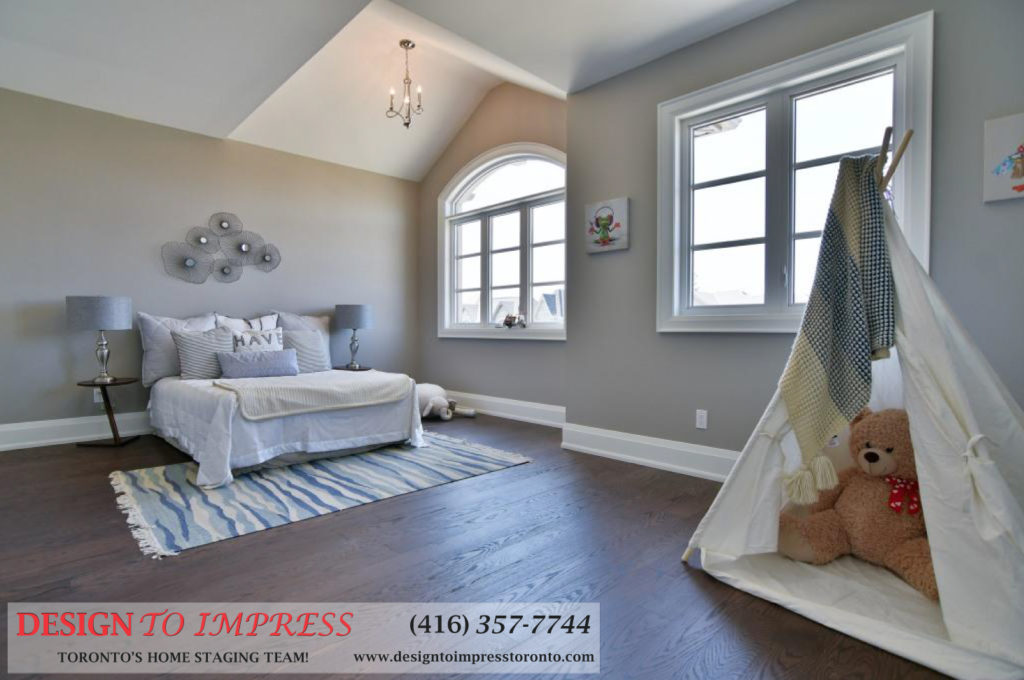 Third Bedroom, 1771 Rockwood, Pickering Home Staging
