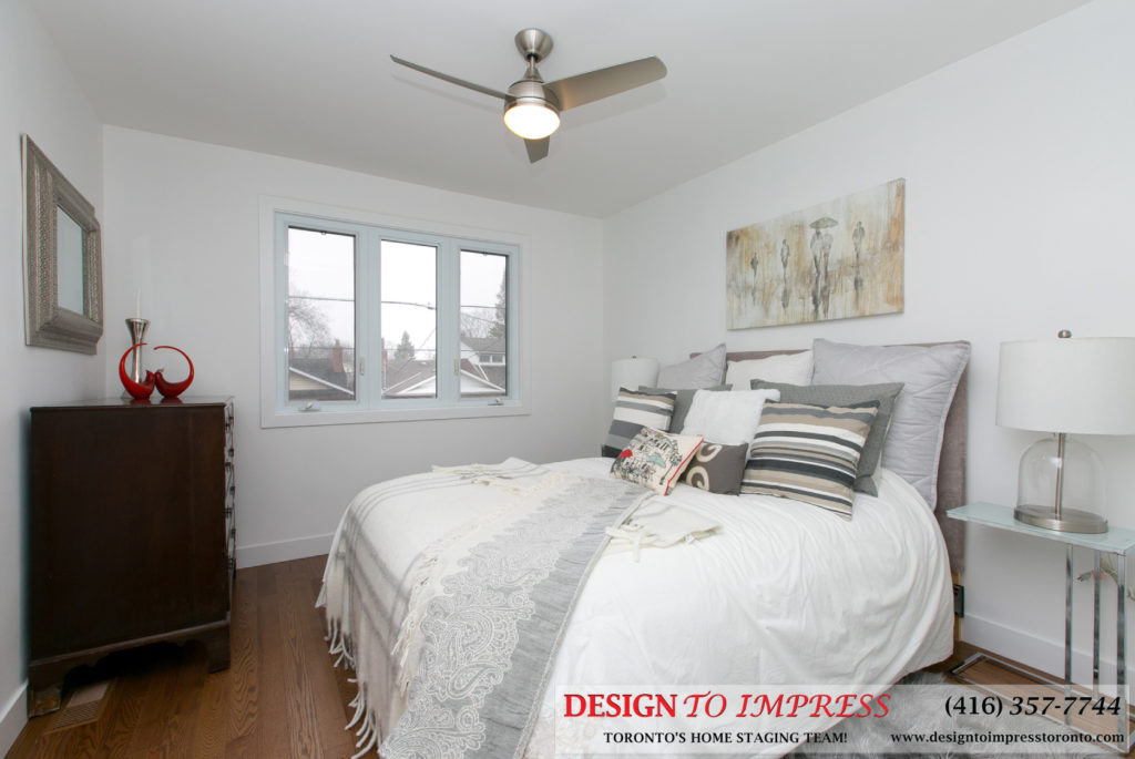 Third Bedroom, 291 Springdale, Toronto Home Staging