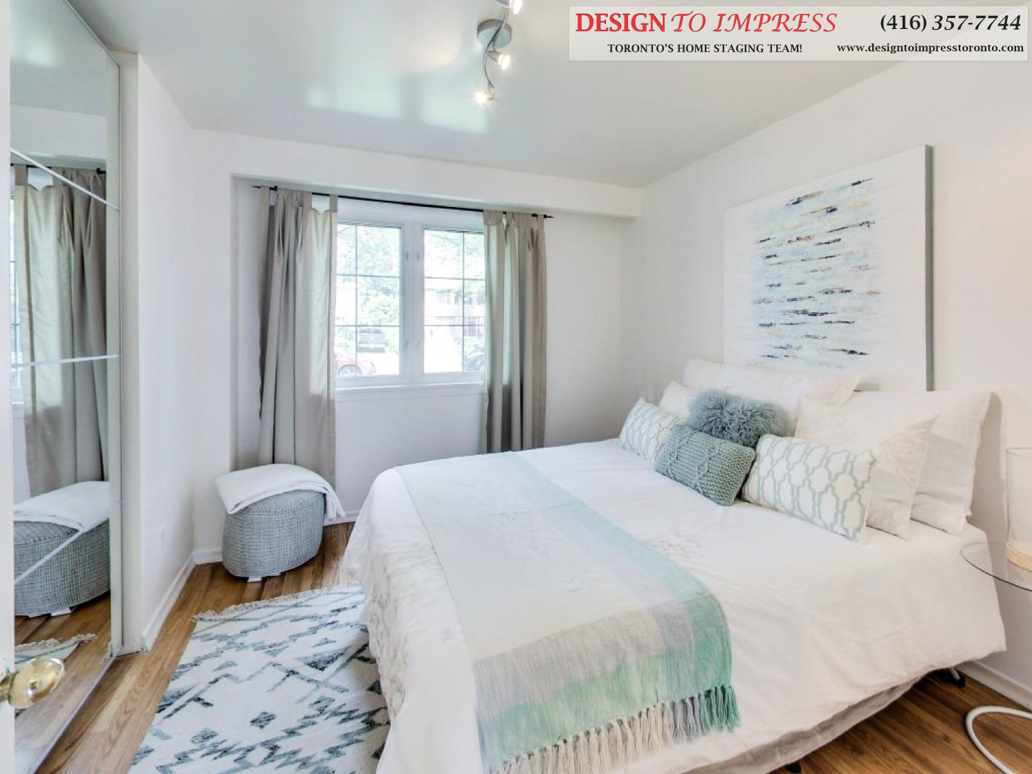Third Bedroom, 41 Bournville, Scarborough Home Staging