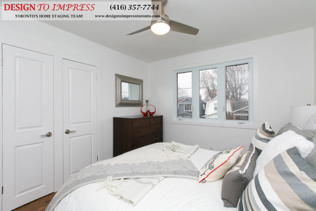 Third Bedroom View, 291 Springdale, Toronto Home Staging