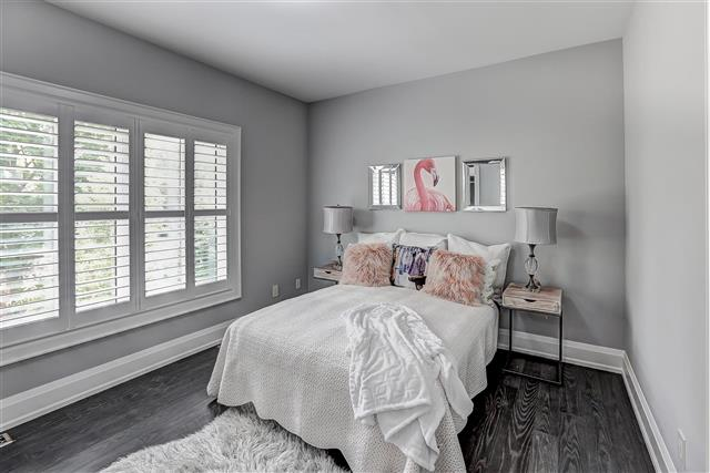 Third Bedroom Window, 175 The Kingsway, Etobicoke Home Staging