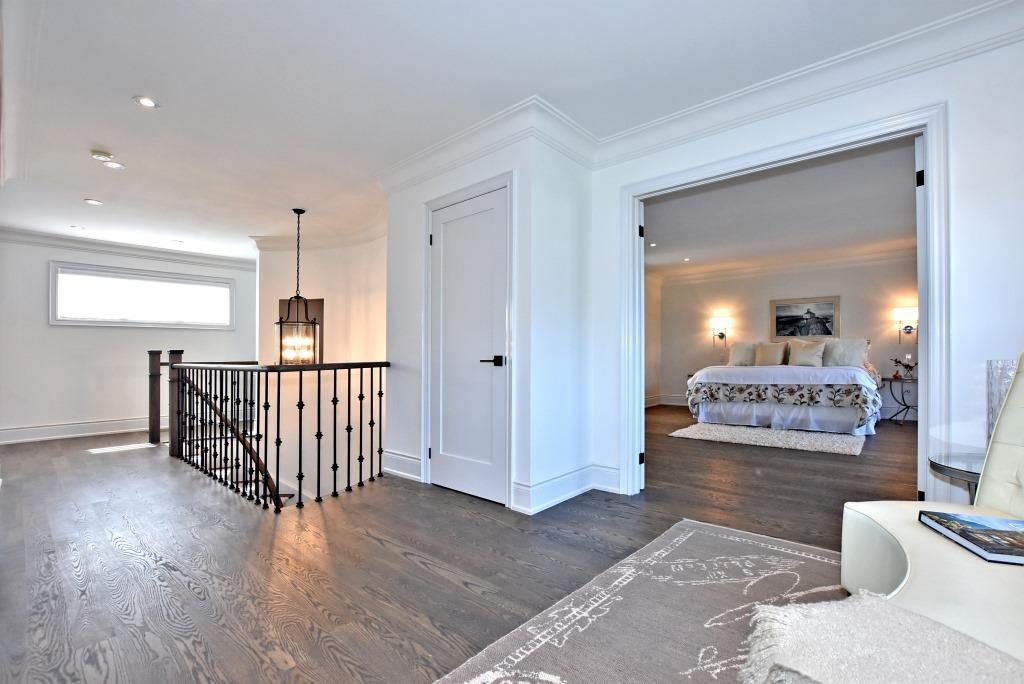 Upper Floor Landing, 91 Wheeler, East York Home Staging