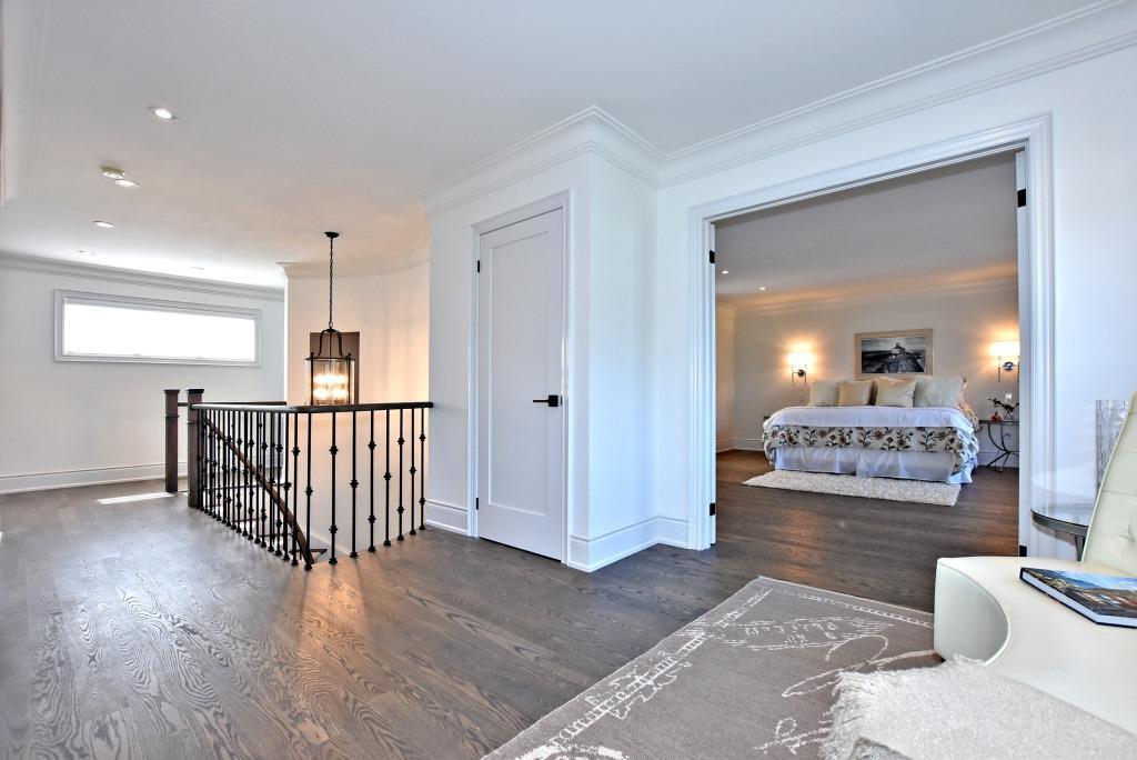 Upper Floor Landing, 91 Wheeler, East York Home Staging