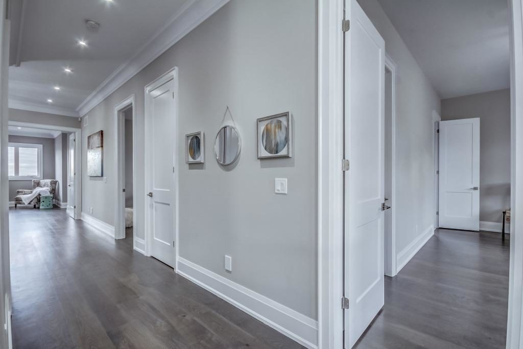 Upstairs Hallway, 1787 Spruce Hill, Pickering Home Staging