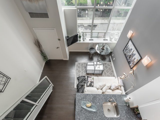 Upstairs View, 300 Manitoba, Toronto Condo Staging