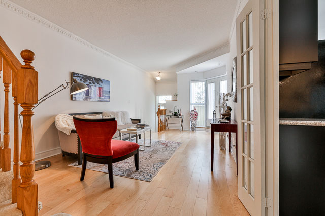 View from Entrance, 5418 Yonge St., Toronto Home Staging
