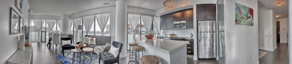 Second Widescreen View, 1815 Yonge, Toronto Condo Staging