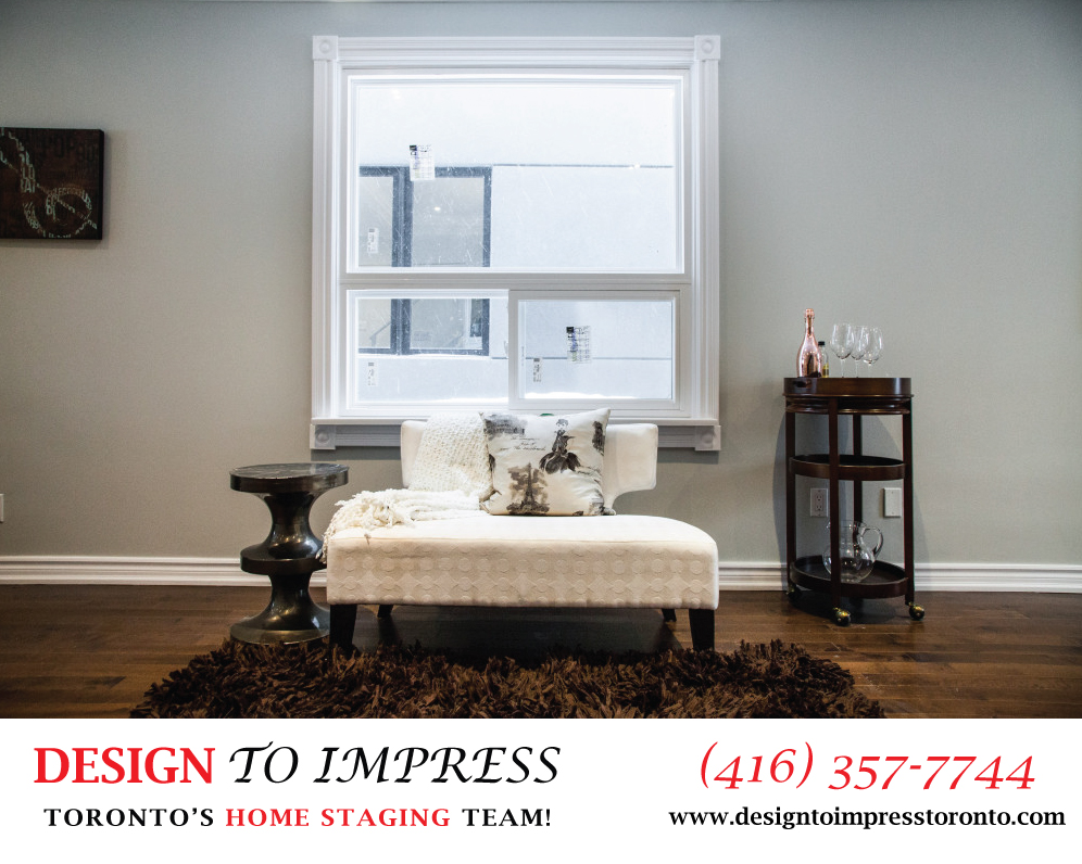 Window, 22 Rhodes, Toronto Home Staging