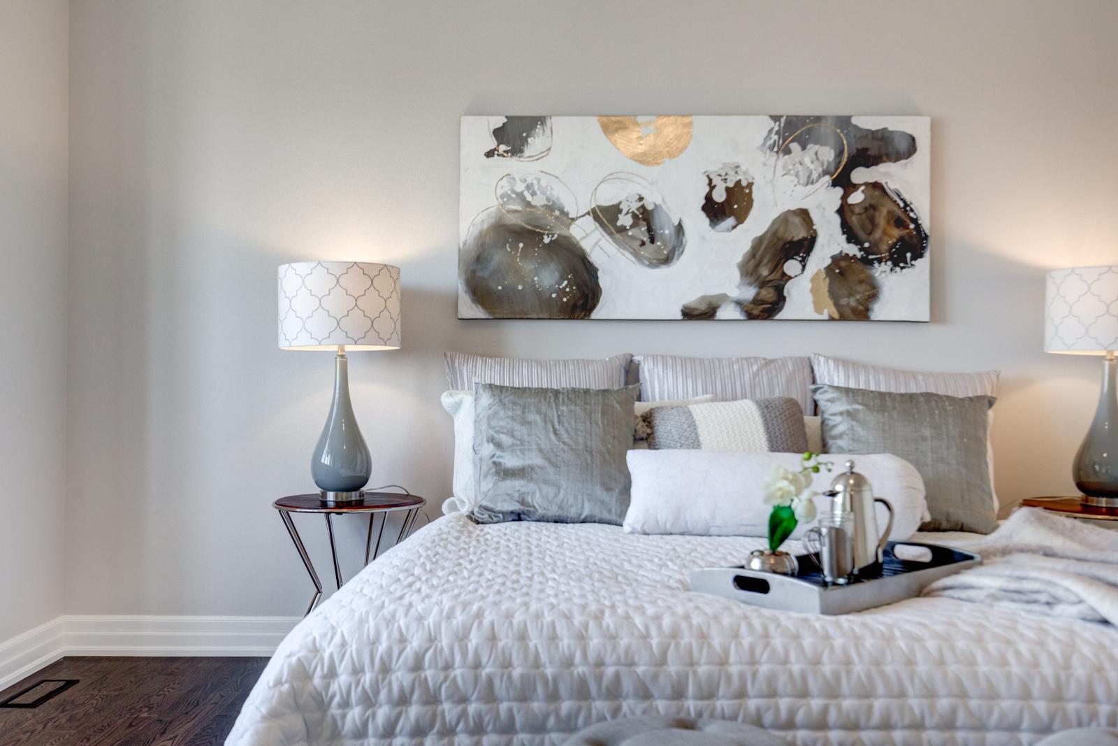 Bedroom, 3910 Lodi, Burlington Home Staging