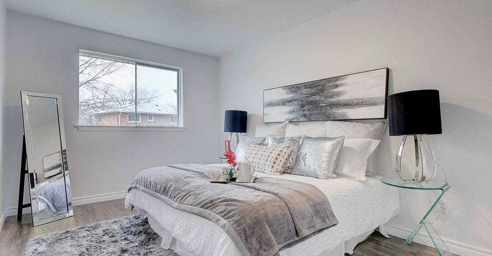 Bedroom, 4 Lotus, North York Home Staging