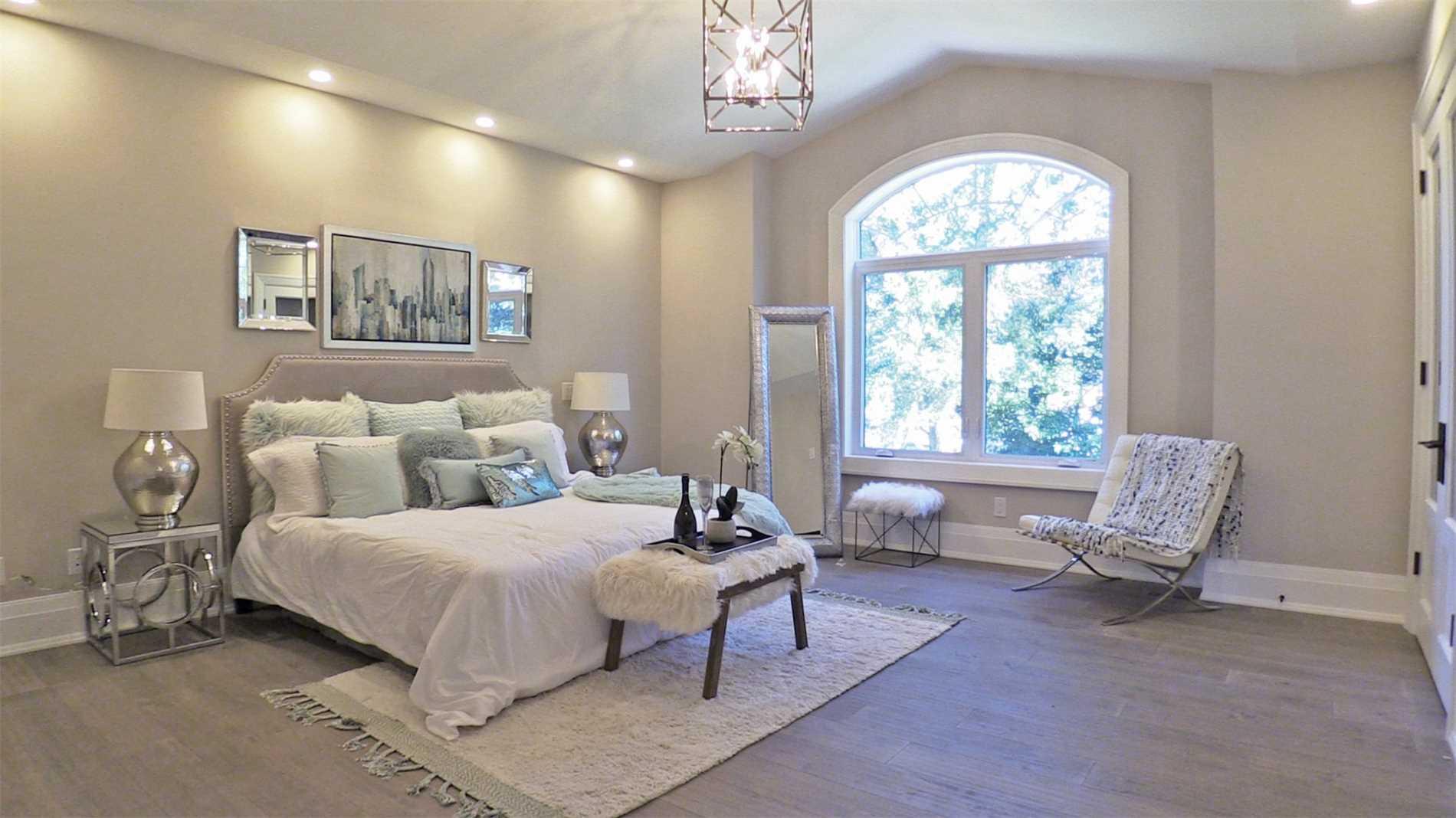 Bedroom, 414 Samford, Oakville Home Staging