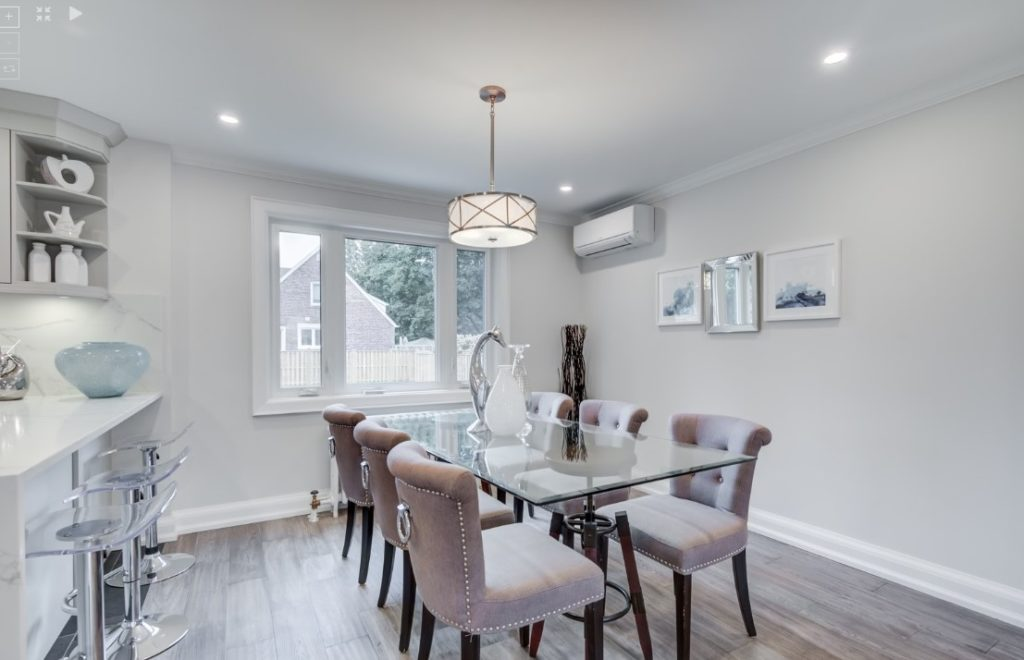 Dining Room, 30 Parkview, North York Home Staging