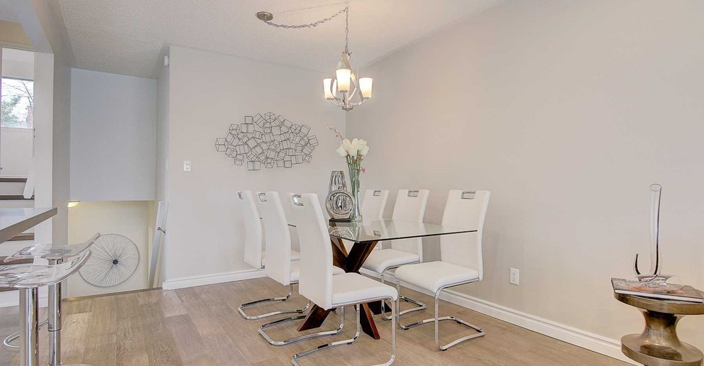 Dining Room, 4 Lotus, North York Home Staging