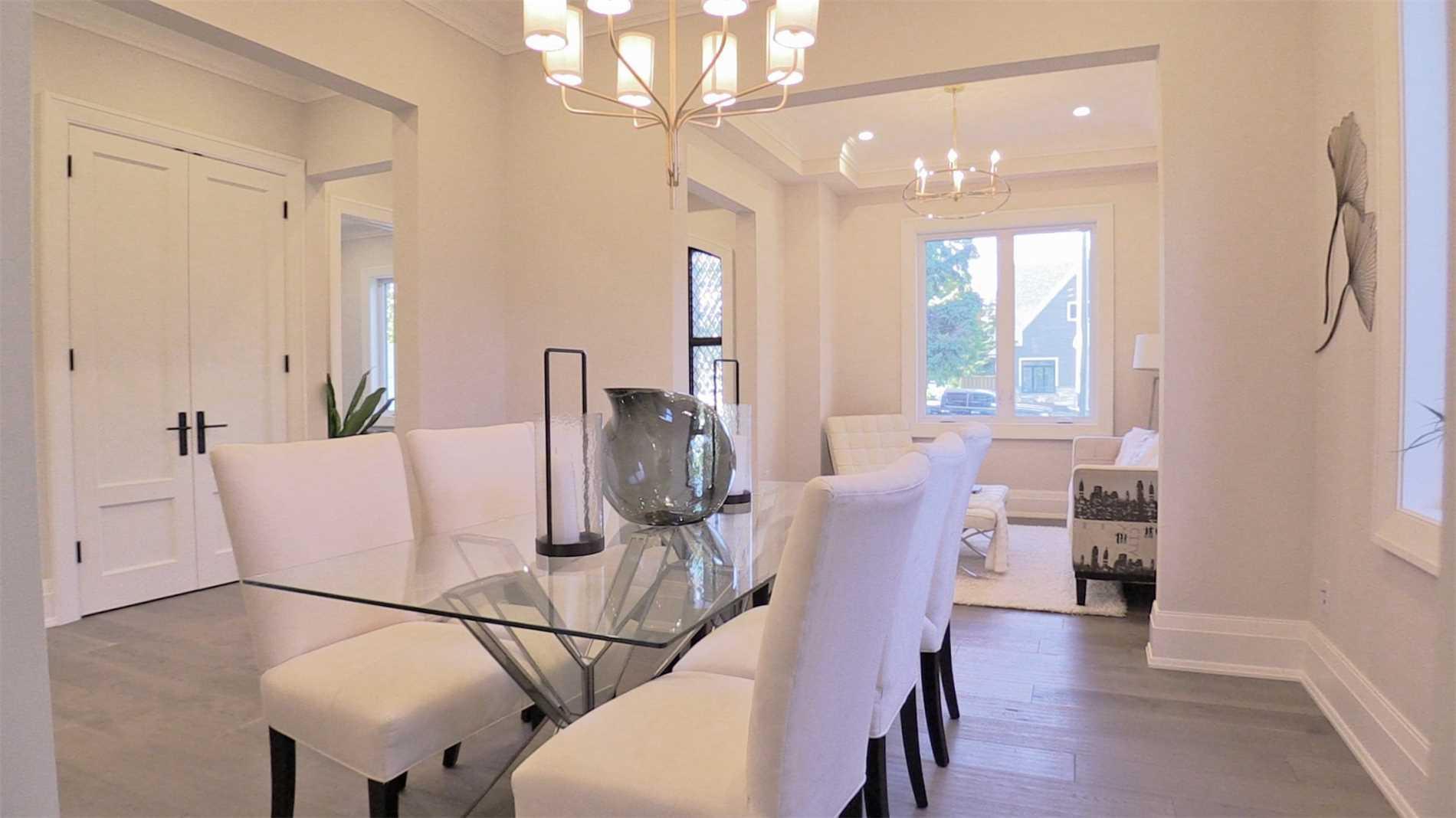 Dining Room, 414 Samford, Oakville Home Staging