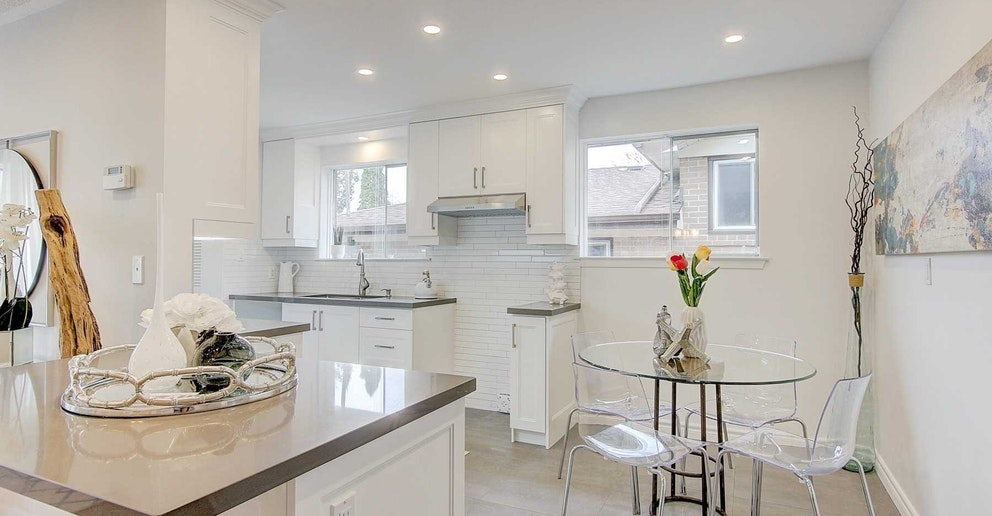 Eat-In Kitchen, 4 Lotus, North York Home Staging