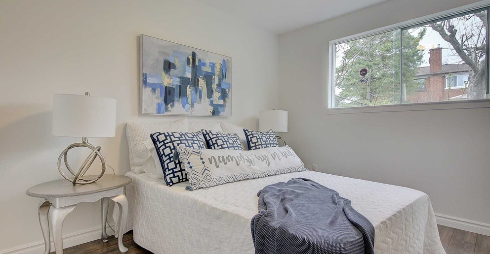 Fourth Bedroom, 4 Lotus, North York Home Staging