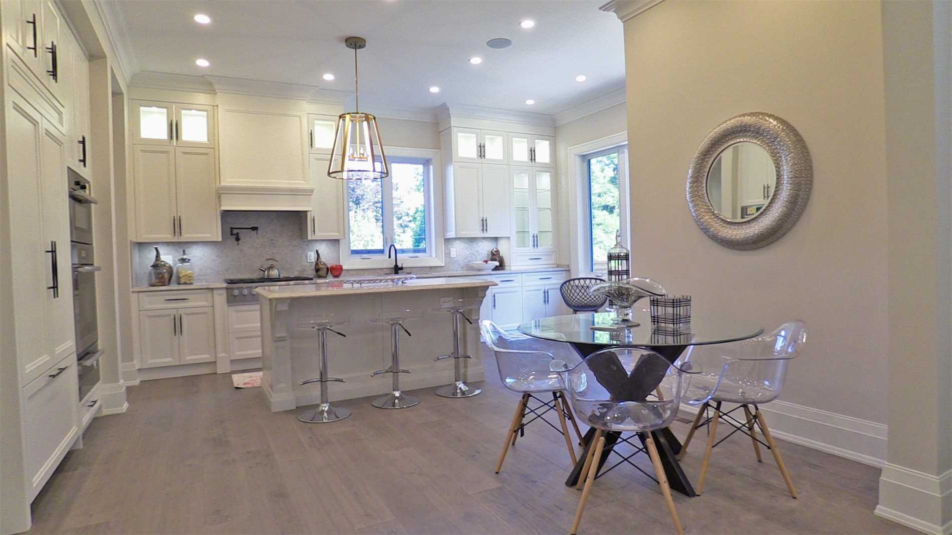Kitchen Cabinets, 414 Samford, Oakville Home Staging