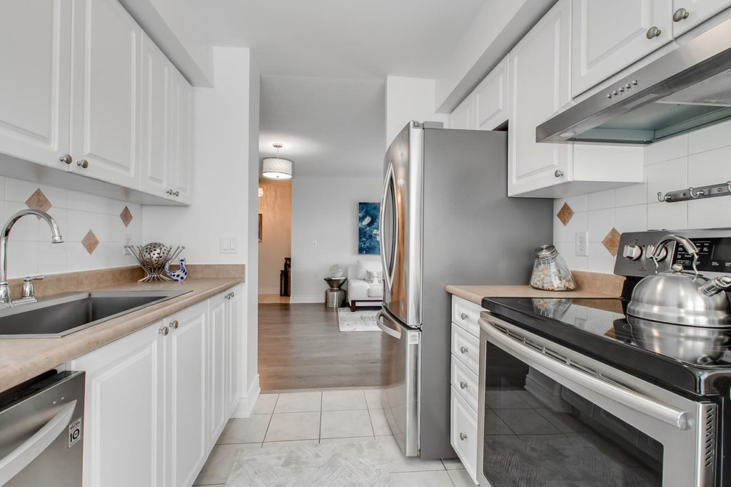 Kitchen Space, 20 Olive Ave, Toronto Condo Staging