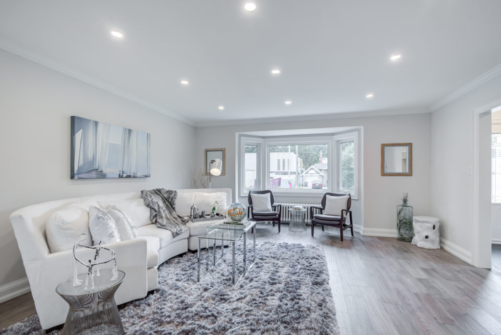 Living Area, 30 Parkview, North York Home Staging