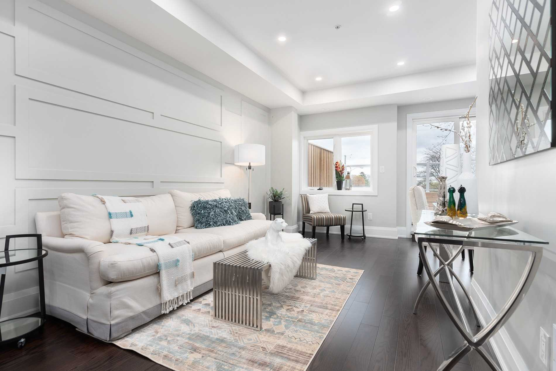 Living Room, 1548A Kingston Rd., Scarborough Home Staging