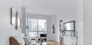 Living Space, 55 Bloor, Toronto Condo Staging