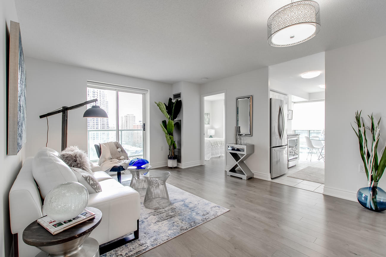 Main Area, 20 Olive Ave, Toronto Condo Staging