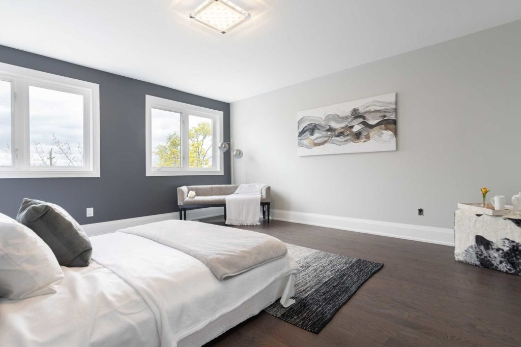 Master Bedroom Windows, 1548A Kingston, Scarborough Home Staging