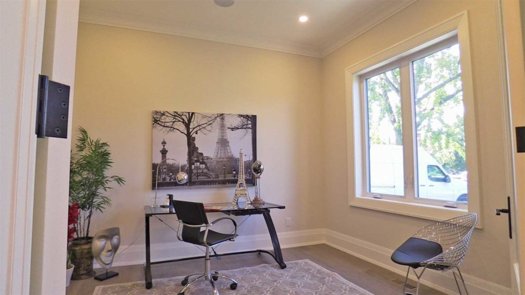 Office, 414 Samford, Oakville Home Staging
