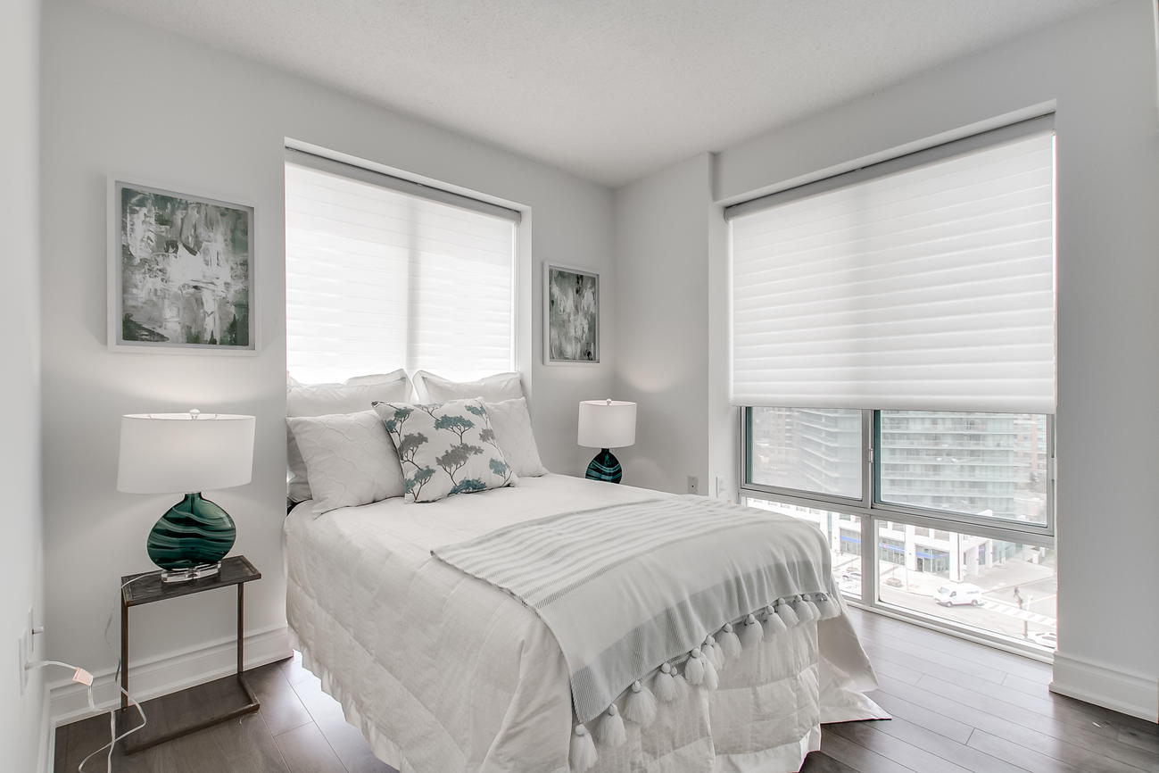 Second Bedroom, 20 Olive Ave, Toronto Condo Staging