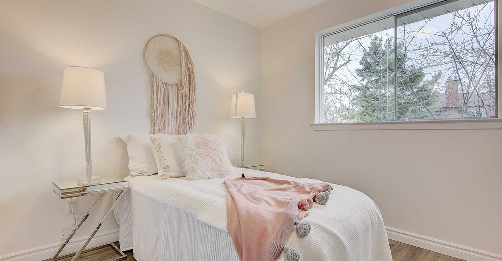 Second Bedroom, 4 Lotus, North York Home Staging