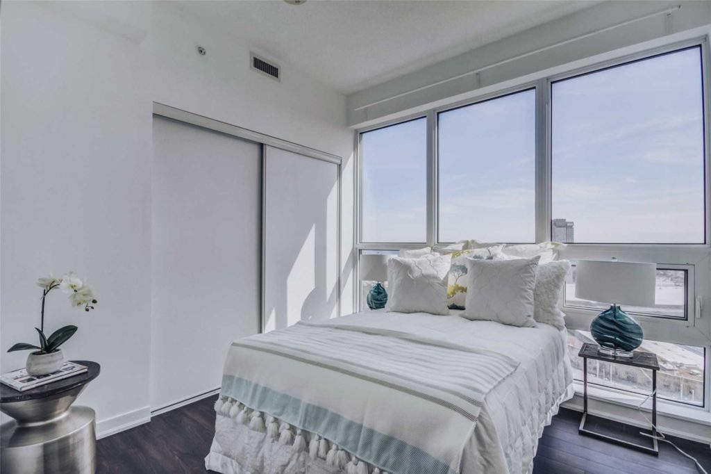 Second Bedroom, 51 East Liberty, Toronto Condo Staging